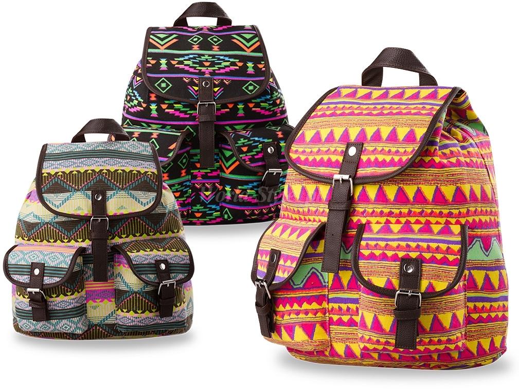 Рюкзак текстильный стильный