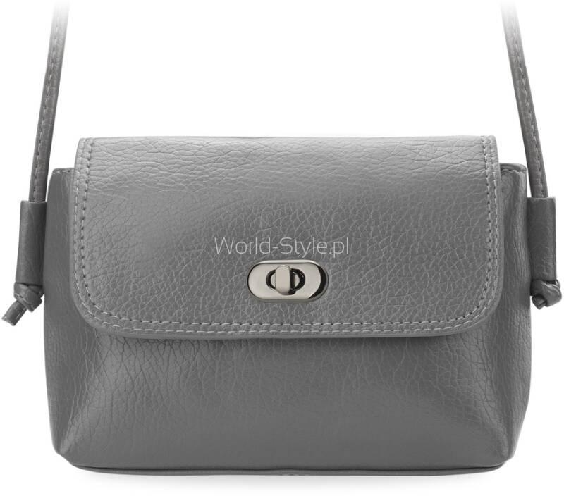 7eabe0b19bef6 Mała torebka damska na cienkim pasku. Doskonała zarówno na co dzień jak i na  większe okazje. Uniwersalny