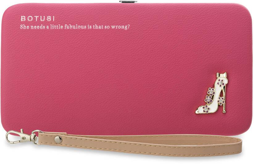 ef6873a5db60e Staranne wykonanie i elegancki design portfela i torebki w jednym