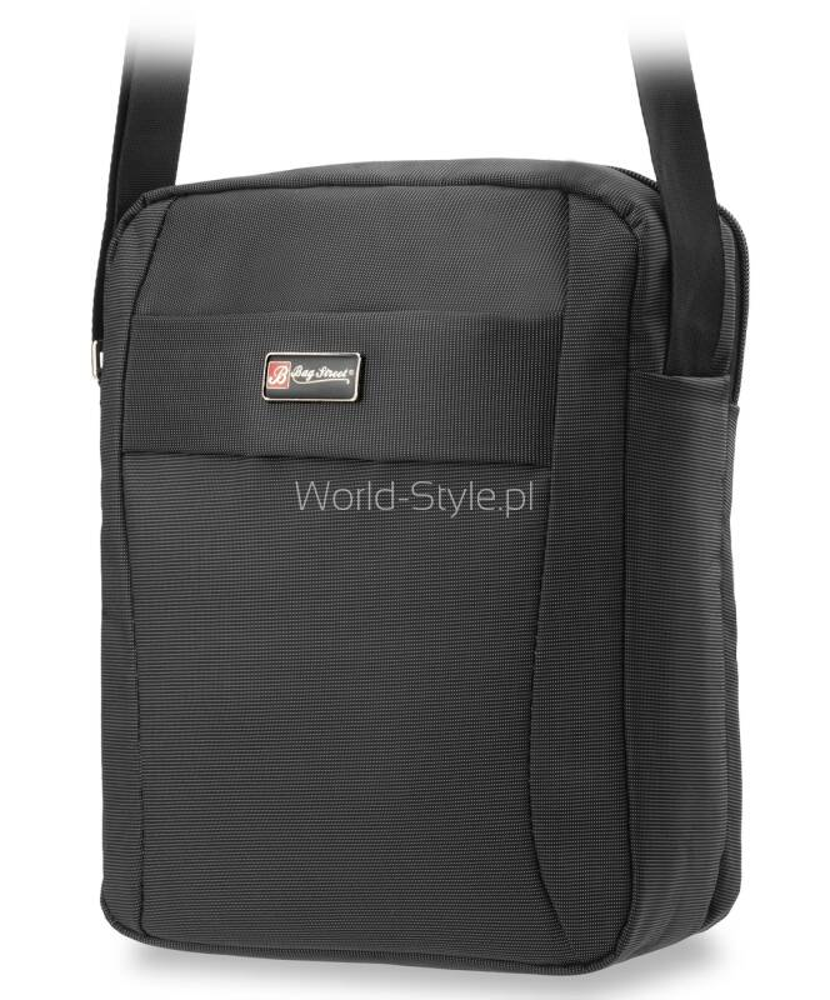 9111a5f2ec77c Klasyczna torba listonoszka męska znanej i cenionej niemieckiej firmy Bag  Street. Wszystkie produkty tej marki cechuje najwyższa jakość materiałów