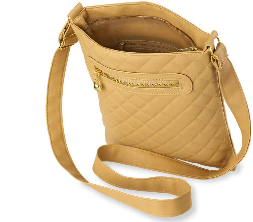 0168d8410757e Klasyczna listonoszka damska idealna dla Pań, które cenią sobie wygodę i  komfort każdego dnia. Wykonana została z miękkiej skóry ekologicznej, ...
