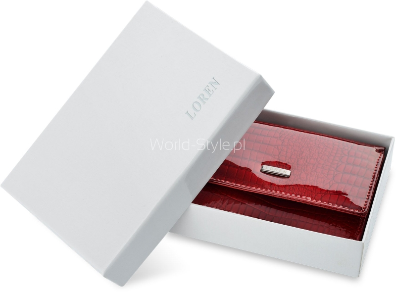 d2568f6991fd6 Marka Loren od lat występuje na polskim rynku galanterii skórzanej. Portfele  damskie Loren to produkty dobrej jakości w stosunkowo niskiej cenie.