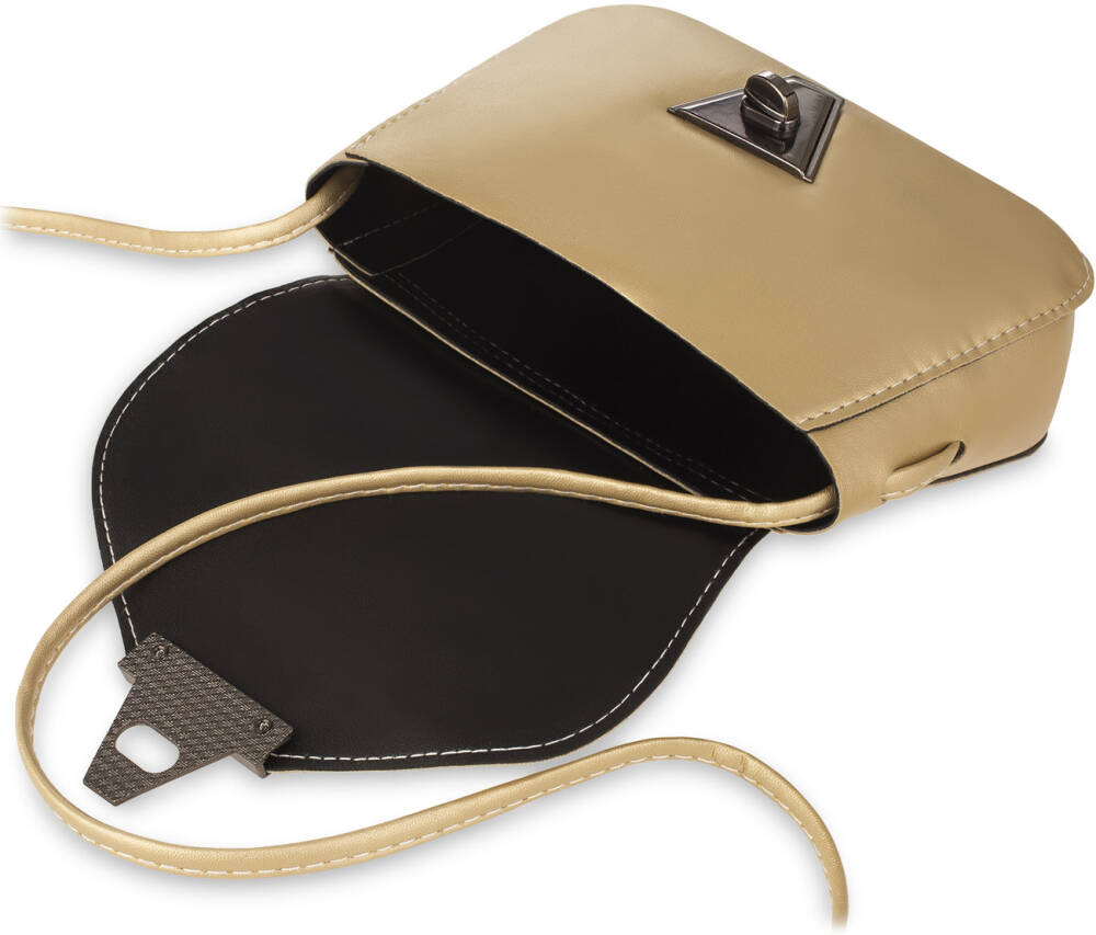 ee2fc466e8140 Stylowa mała torebka damska o klasycznym designie. Lekko usztywniona,  zamykana klapką z ozdobną klamrą. Dzięki swoim niewielkim rozmiarom,  wyjątkowo lekka i ...